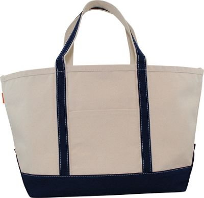 CB Station Boat Tote Large Navy - CB Station Fabric Handbags