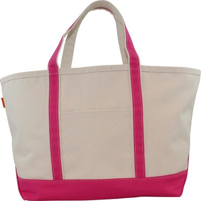 CB Station Boat Tote Large Hot Pink - CB Station Fabric Handbags
