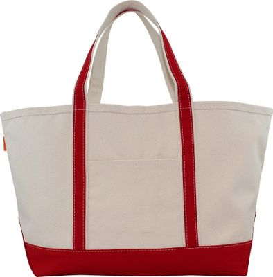 CB Station Boat Tote Large Red - CB Station Fabric Handbags