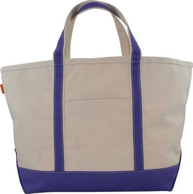 CB Station Boat Tote Large Violet - CB Station Fabric Handbags