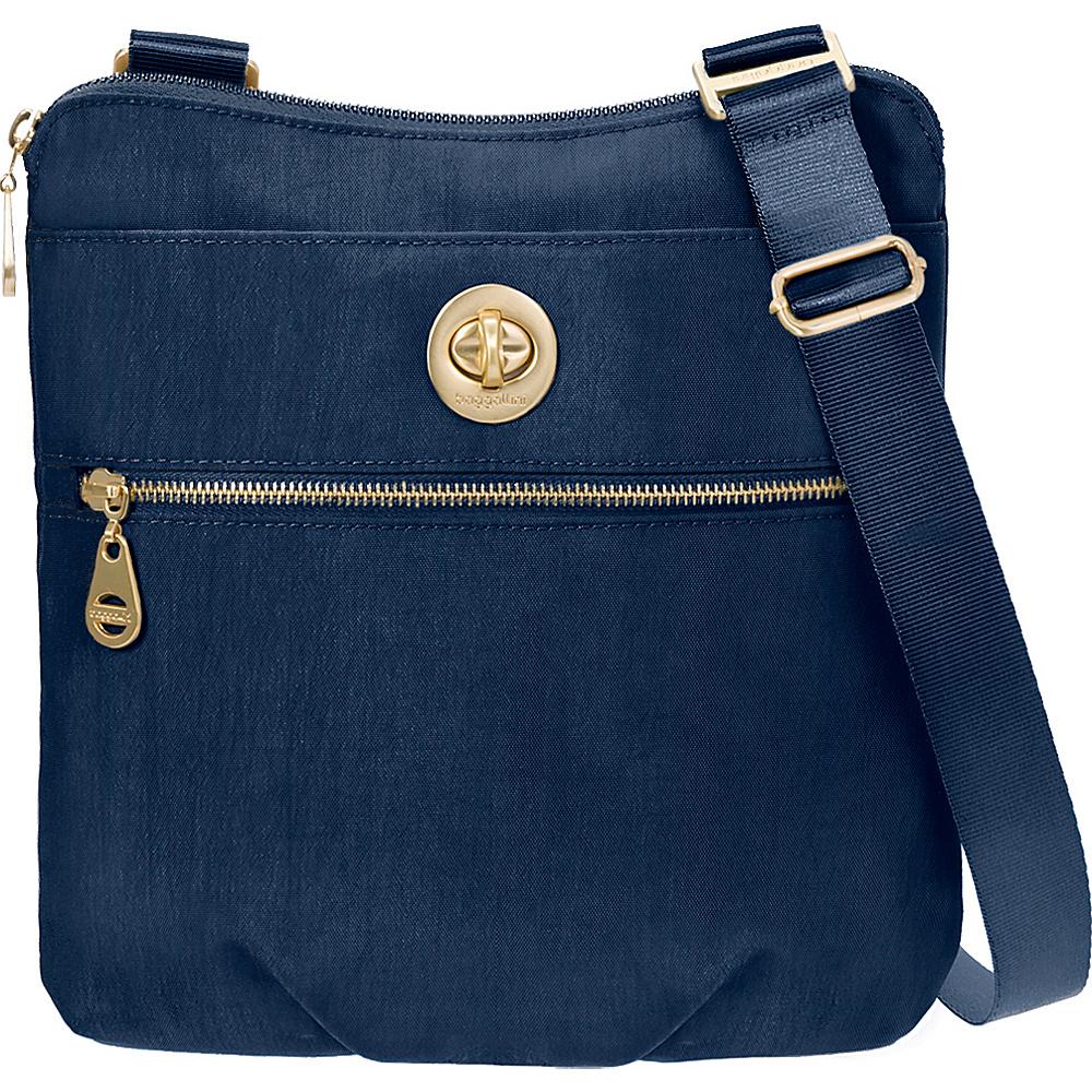 baggallini Gold Hanover Crossbody- Retired Colors Pacific - baggallini Fabric Handbags