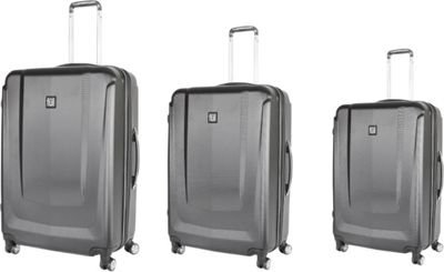 ful 3 Pieces Set Load Rider Luggage Black - ful Luggage Sets