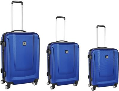 ful 3 Pieces Set Load Rider Luggage Cobalt - ful Luggage Sets