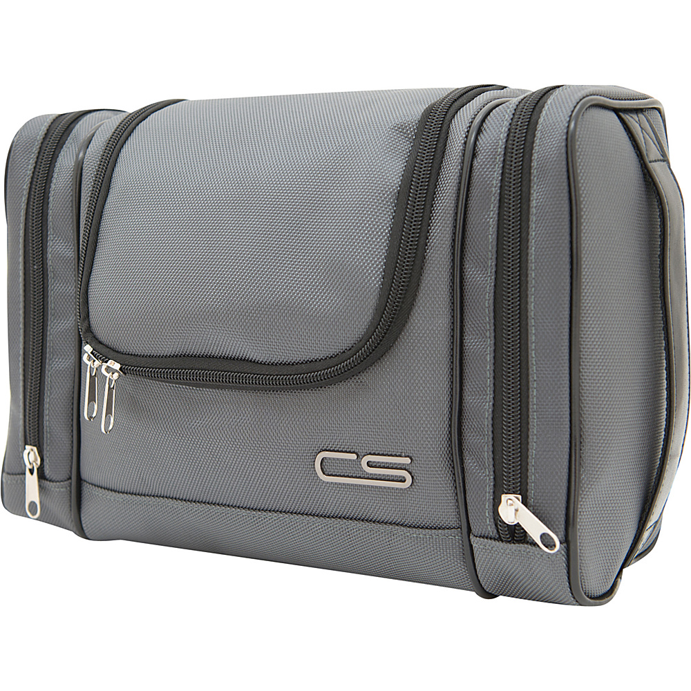 Carbon Sesto Desil Toiletry Bag Space Grey - Carbon Sesto Toiletry Kits