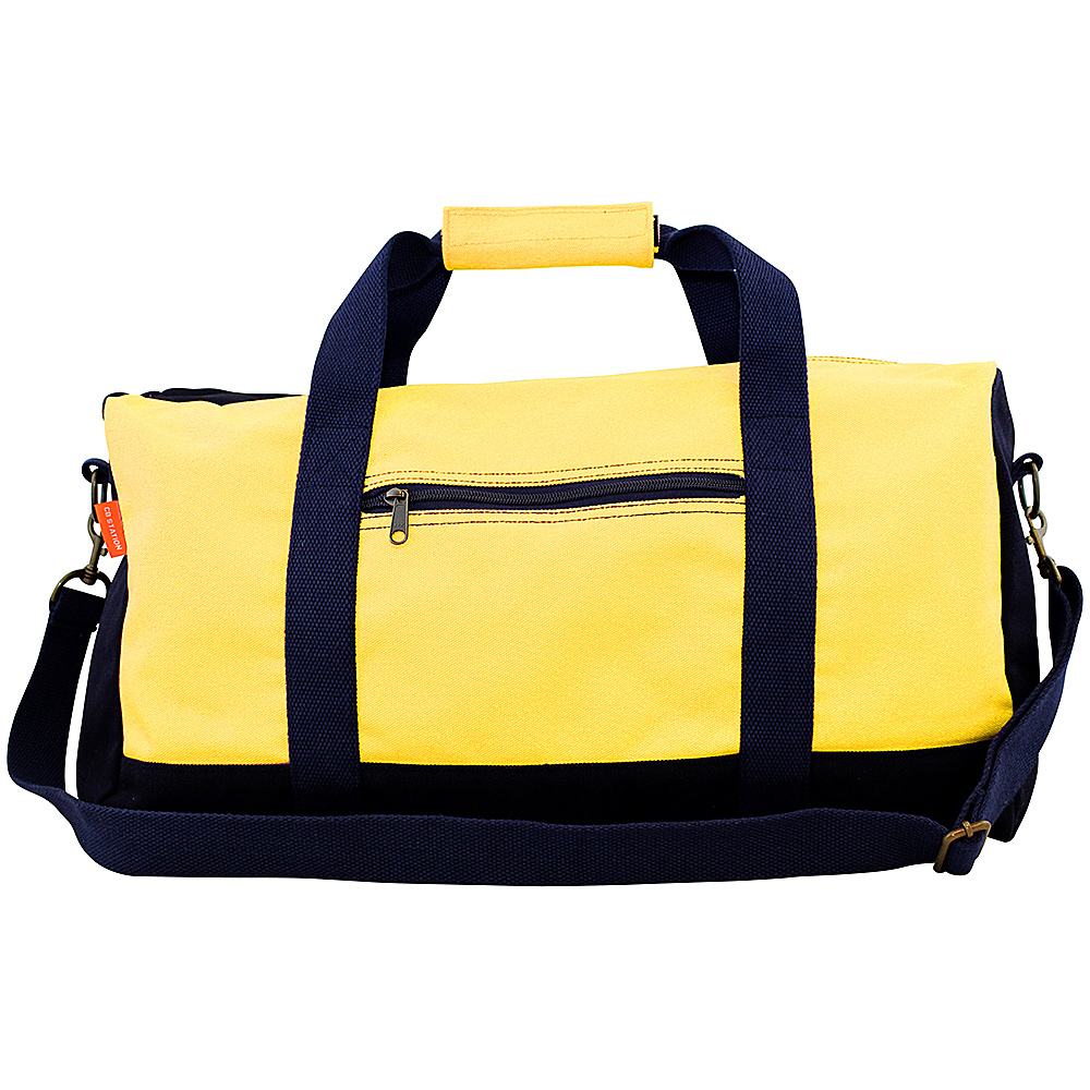 CB Station Adventure Duffel Yellow Navy CB Station Gym Duffels