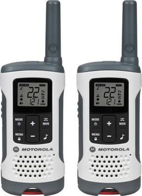 Motorola Solutions Talkabout T260 Radio - 2 Pack White - Motorola Solutions Electronic Accessories