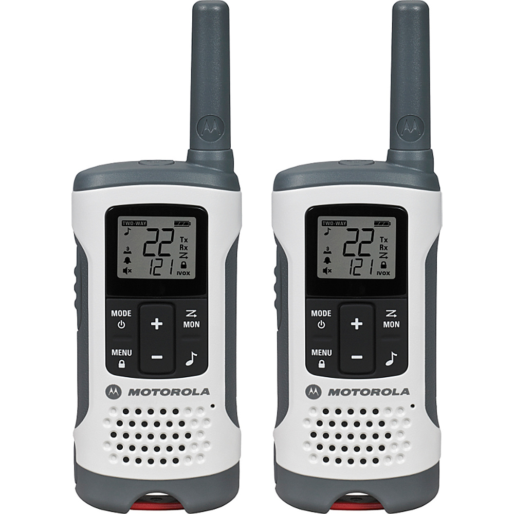 Motorola Solutions Talkabout T260 Radio - 2 Pack White -