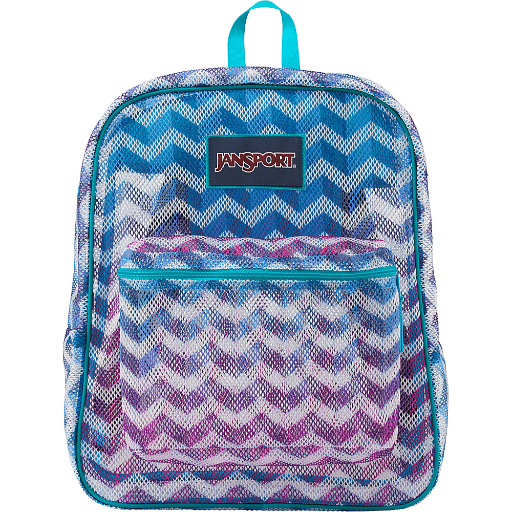 JanSport Mesh Pack Shadow Chevron - JanSport Everyday Backpacks