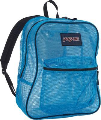JanSport Mesh Pack Blue Crest - Black Label - JanSport Everyday Backpacks
