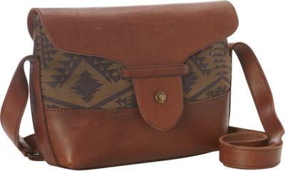 Pendleton Satchel Bag Diamond River Tonal - Pendleton Fabric Handbags