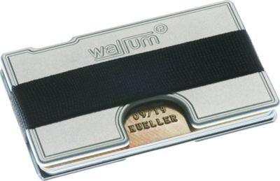 Wallum T1 Elastic Band Grey - Wallum Men's Wallets