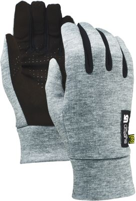 Burton Mens Touch n Go Glove S - Heathered Grey-L - Burton Hats/Gloves/Scarves