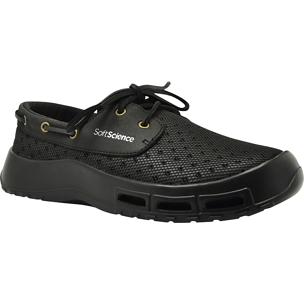 SoftScience Mens Fin Lace Up Watershoe 7 Black SoftScience Men s Footwear
