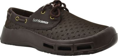 SoftScience Mens Fin Lace-Up Watershoe 7 - Brown - SoftScience Men's Footwear