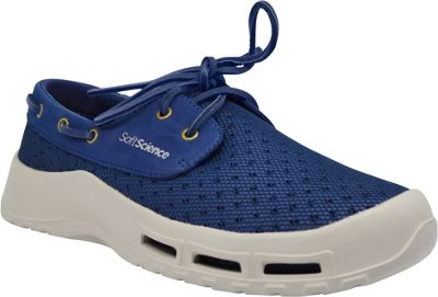 SoftScience Mens Fin Lace-Up Watershoe 11 - Dark Blue - SoftScience Men's Footwear