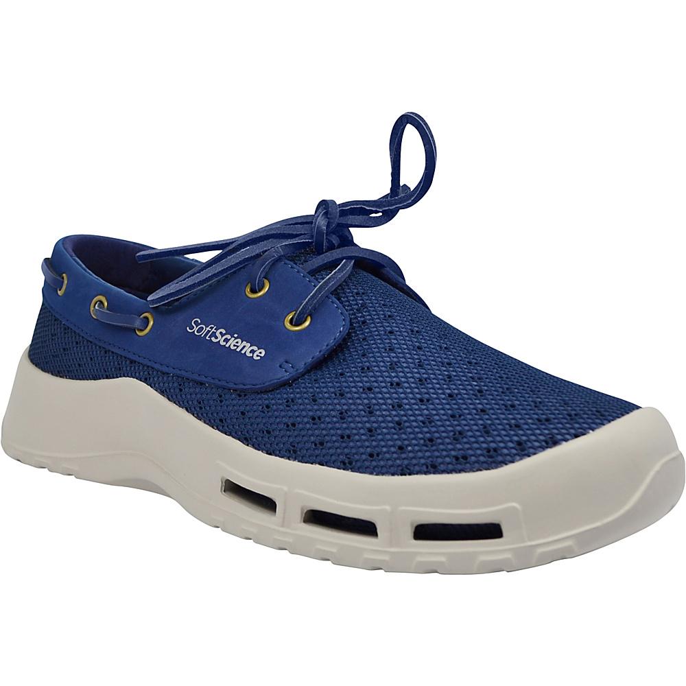 SoftScience Mens Fin Lace Up Watershoe 7 Dark Blue SoftScience Men s Footwear