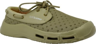 SoftScience Mens Fin Lace-Up Watershoe 10 - Khaki - SoftScience Men's Footwear