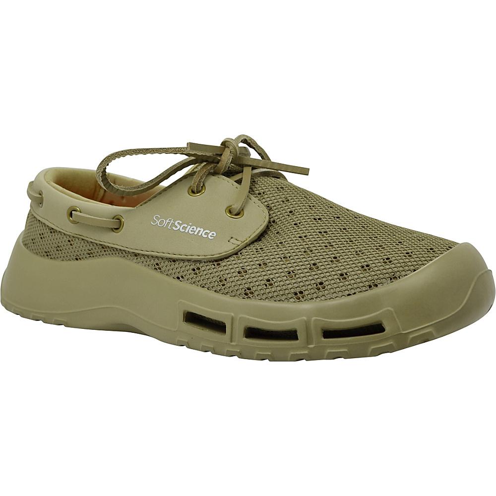 SoftScience Mens Fin Lace Up Watershoe 7 Khaki SoftScience Men s Footwear