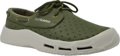 SoftScience Mens Fin Lace-Up Watershoe 7 - Sage - SoftScience Men's Footwear