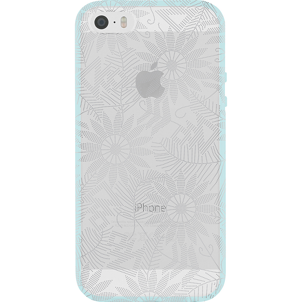 Incipio Design Series Beaded Daisy for iPhone 5/5s/SE Silver - Incipio Electronic Cases - Technology, Electronic Cases