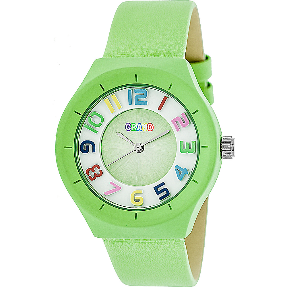 Crayo Atomic Strap Watch Lime Crayo Watches