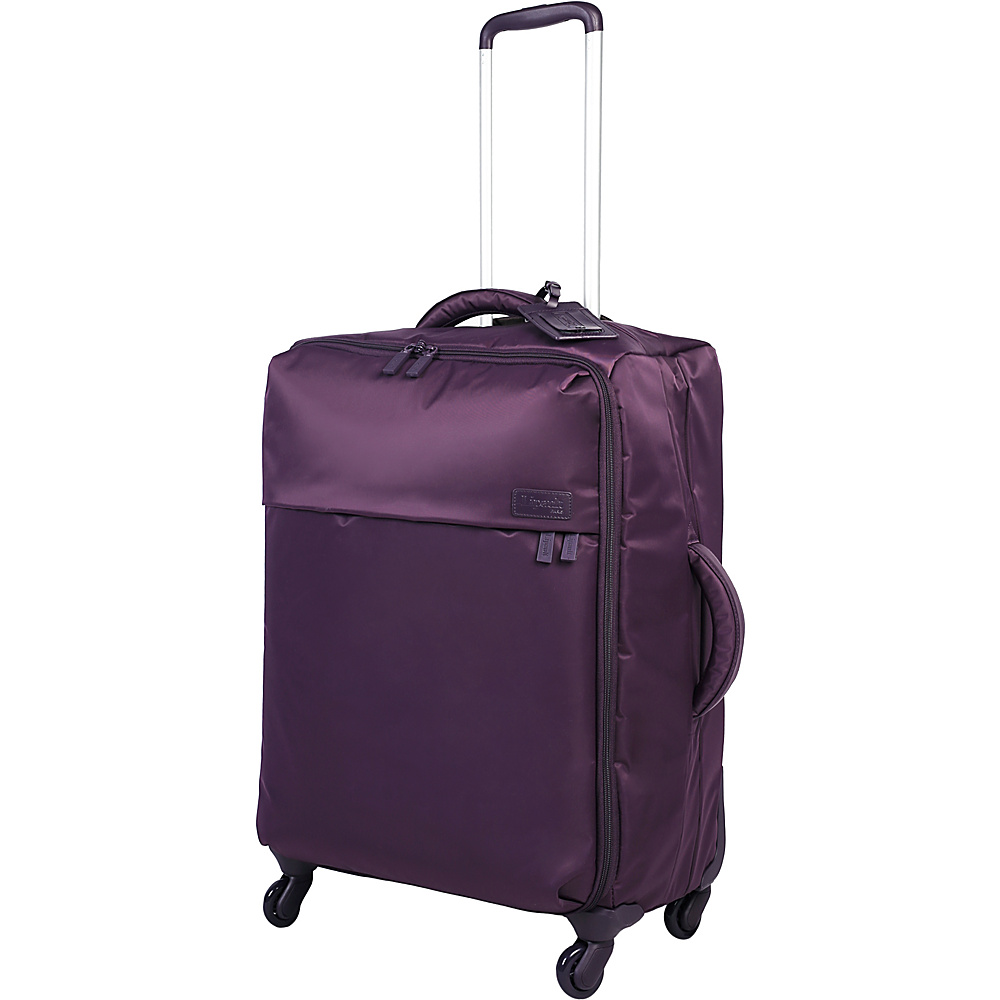 Lipault Paris Spinner 24 Purple Lipault Paris Softside Checked