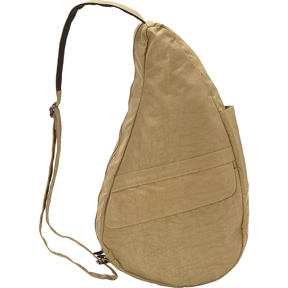 AmeriBag Healthy Back Bag  evo Distressed Nylon Medium Taupe - AmeriBag Fabric Handbags - Handbags, Fabric Handbags
