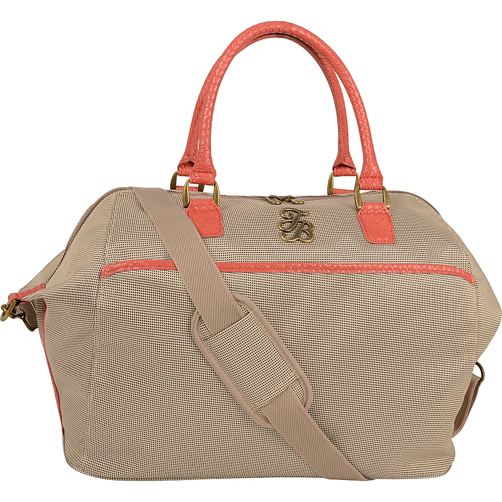 Tommy Bahama Belle of the Beach 18 Overnighter Champagne Coral Tommy Bahama Travel Duffels