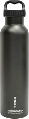 FIFTY/FIFTY Vacuum-Insulated Bottle-25oz Matte Black - FIFTY/FIFTY Hydration Packs and Bottles