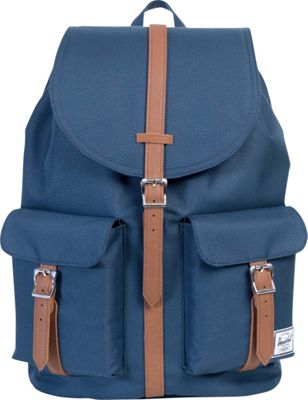 Herschel Supply Co. Dawson Large Backpack Navy/Tan Synthetic Leather - Herschel Supply Co. Business & Laptop Backpacks