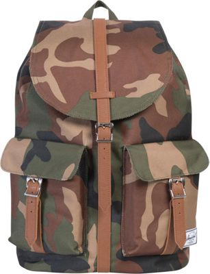 Herschel Supply Co. Dawson Large Backpack Woodland Camo/Tan Synthetic Leather - Herschel Supply Co. Business & Laptop Backpacks
