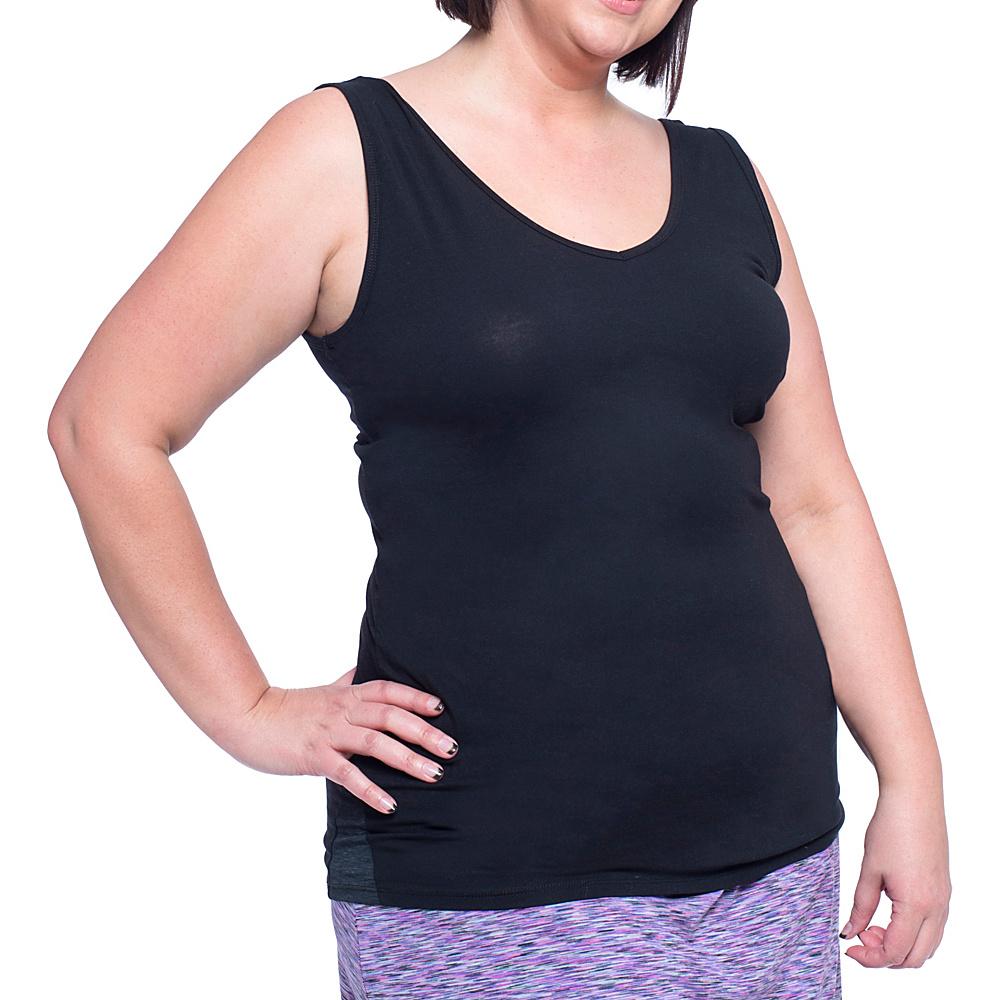 Soybu Lola Tank - Plus Size 2XL - Black - Soybu Womens Apparel - Apparel & Footwear, Women's Apparel
