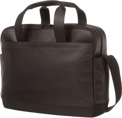 Moleskine Classic Leather Utility Bag Black - Moleskine Non-Wheeled Business Cases