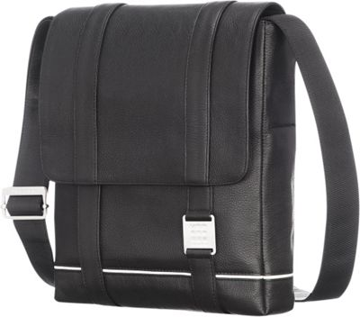 Moleskine Lineage Leather Reporter Bag Black - Moleskine ...