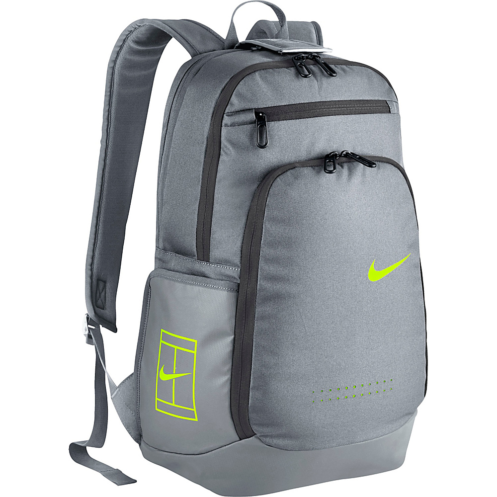 Nike Court Tech Backpack 2.0 Stealth/Stealth/Volt - Nike Racquet Bags