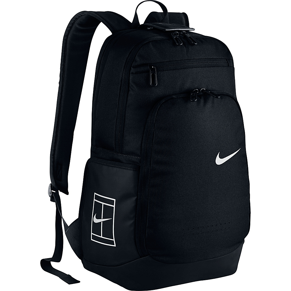 Nike Court Tech Backpack 2.0 Black/Black/White - Nike Other Sports Bags