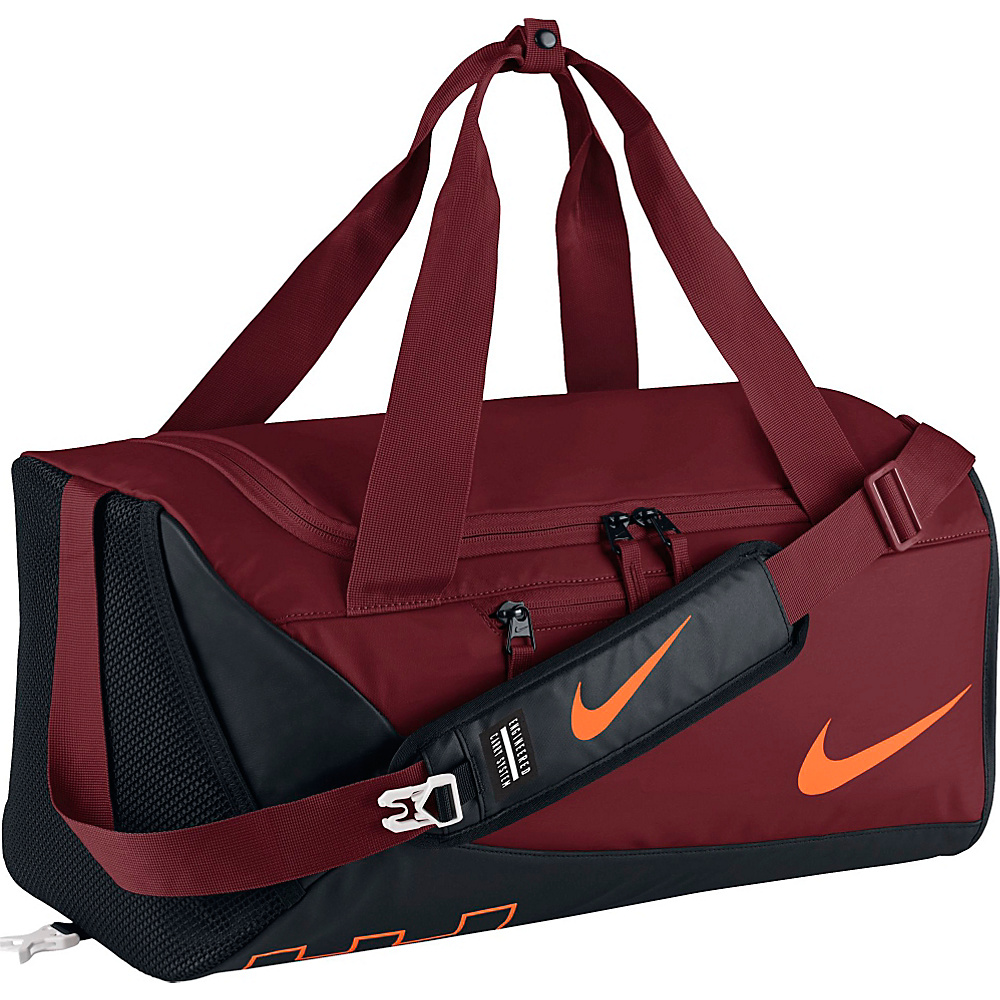 Nike Kids Alpha Adapt Crossbody Duffel Team Red Black Total Orange Nike Gym Duffels