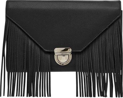 HButler Mighty Purse Cell Charging Tassel Wallet Bag Black - HButler Manmade Handbags