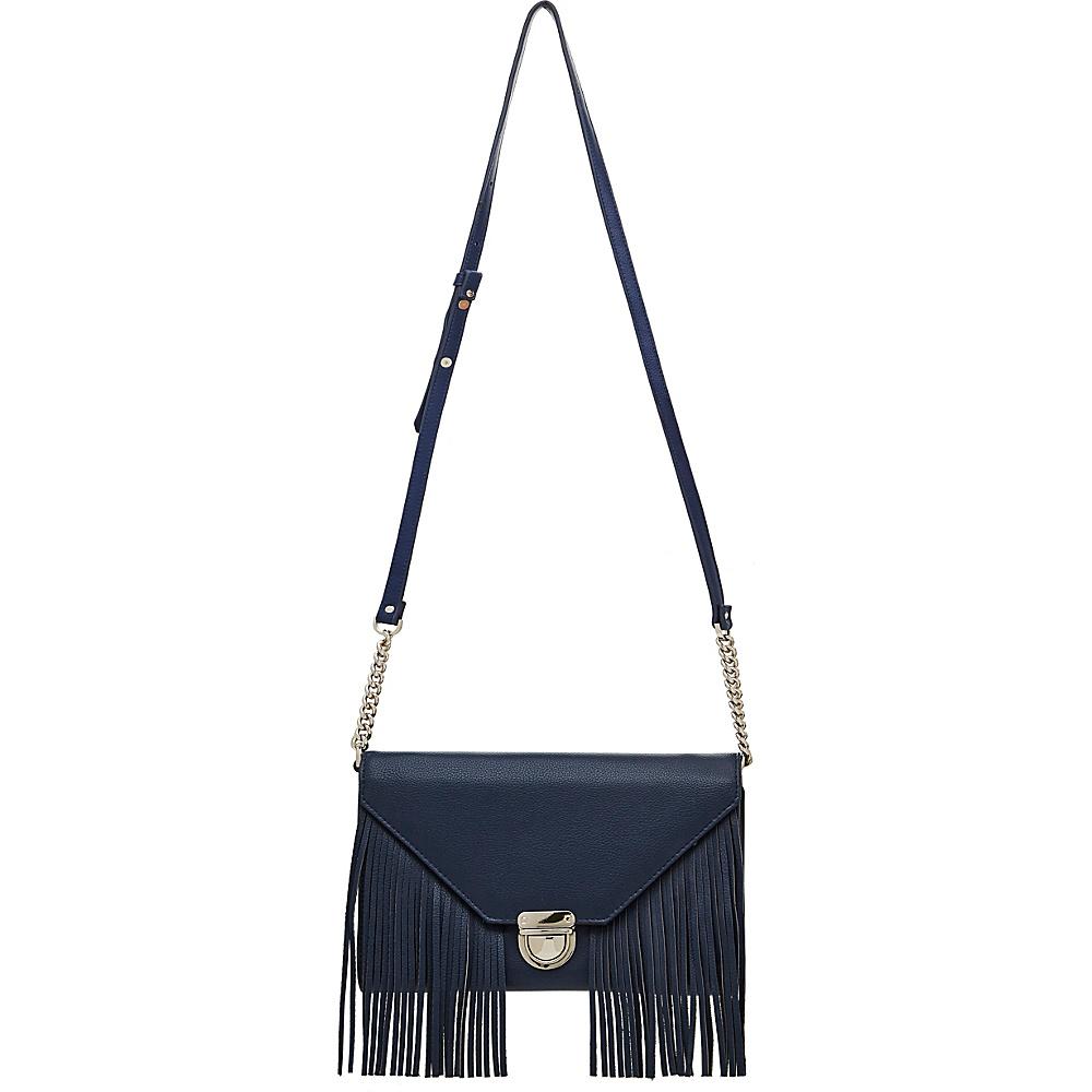 HButler Mighty Purse Cell Charging Tassel Wallet Bag Navy Blue HButler Manmade Handbags