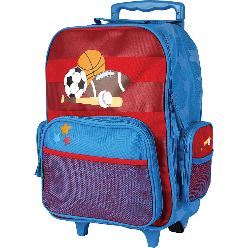 Stephen Joseph Classic Rolling Luggage Sports - Stephen Joseph Kids Luggage - Luggage, Kids' Luggage