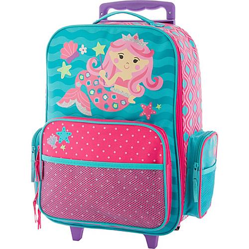 Stephen Joseph Classic Rolling Luggage Mermaid2 - Stephen Joseph Kids' Luggage