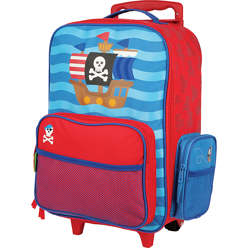 Stephen Joseph Kids Rolling Luggage Pirate Stephen Joseph Softside Carry On