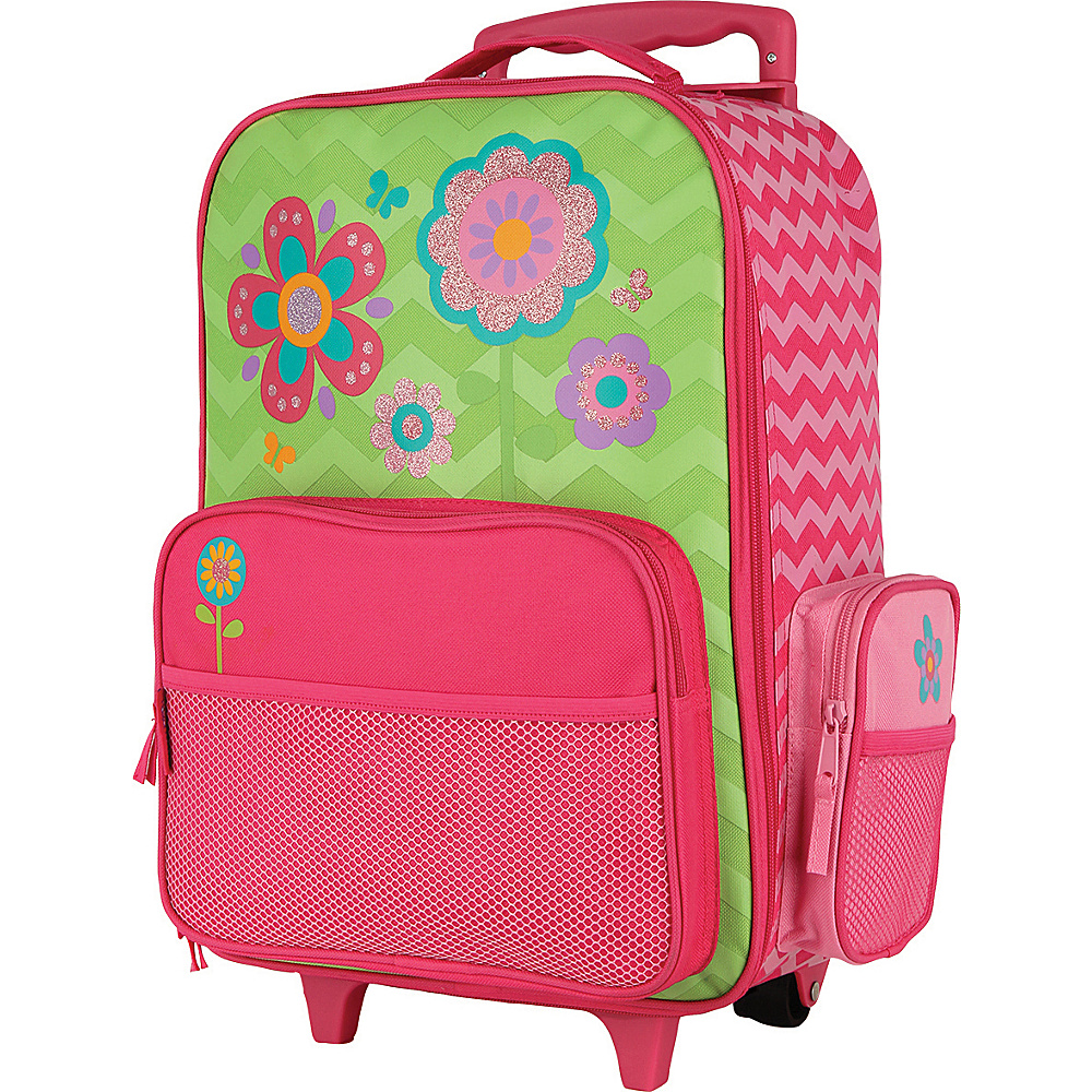 Stephen Joseph Classic Rolling Luggage Flower - Stephen Joseph Kids Luggage - Luggage, Kids' Luggage