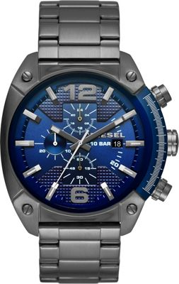 Image of Diesel Watches Overflow Stainless Steel Watch Grey - Diesel Watches Watches