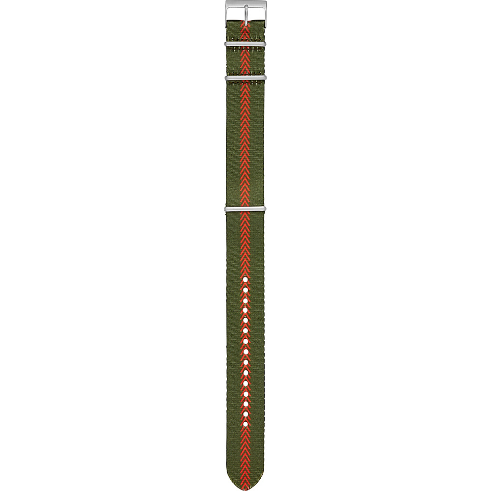 Fossil Canteen Field 22mm Nylon Watch Strap Brown - Fossil Watches - Fashion Accessories, Watches
