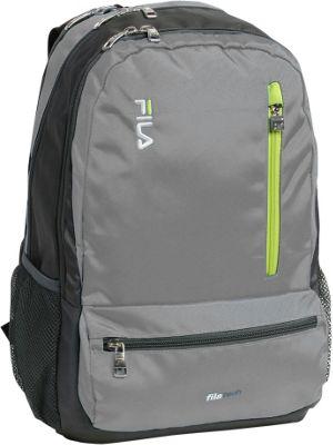 Fila Nexus Tablet and Laptop School Backpack - 5 Pockets Grey - Fila Everyday Backpacks