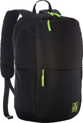 M-Edge Tech Backpack with Battery Black - M-Edge Everyday Backpacks