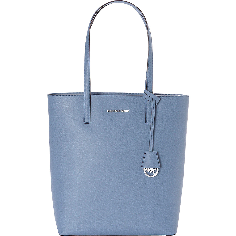 MICHAEL Michael Kors Hayley Large NS Top Zip Tote Denim MICHAEL Michael Kors Designer Handbags