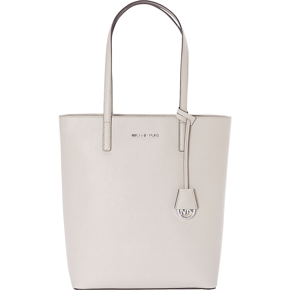 MICHAEL Michael Kors Hayley Large NS Top Zip Tote Cement MICHAEL Michael Kors Designer Handbags