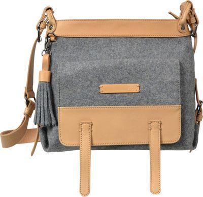 Sherpani Willow Wool Everyday Crossbody Chai - Sherpani Fabric Handbags